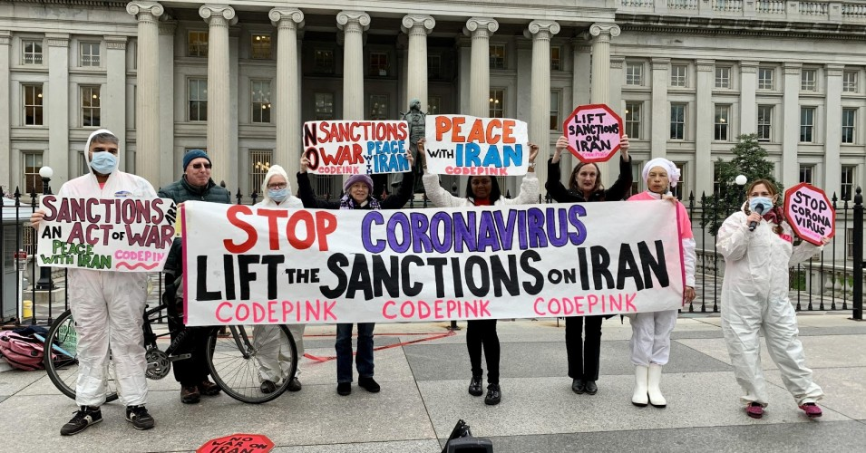 Advocated Humanitarian Relief for Iran